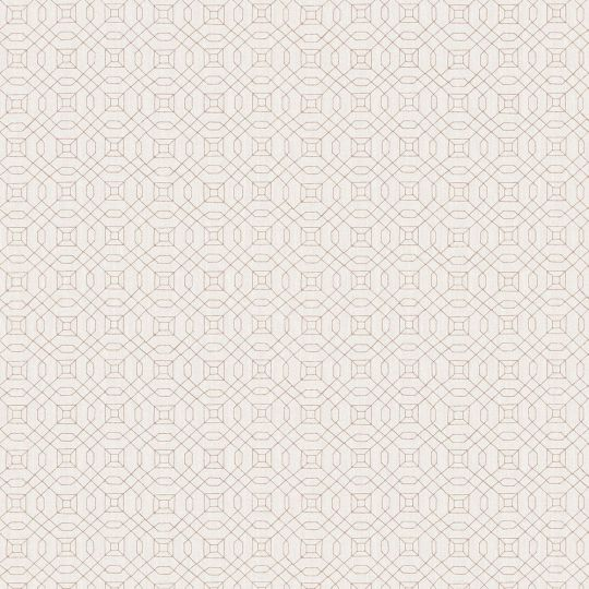 Обои Galerie Metallic FX W78214 лабиринт серая бронза