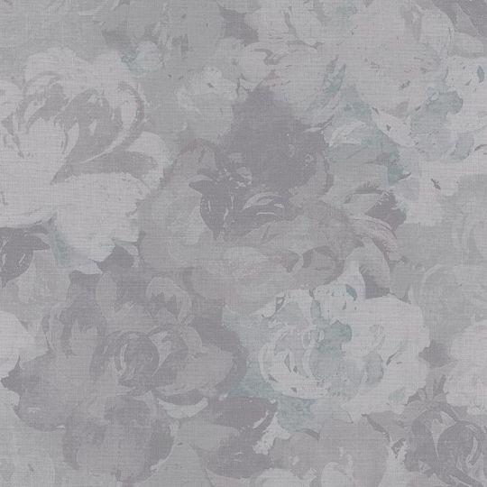 Обои Casadeco Williamsburg WIL28446120 пионы темно-серые