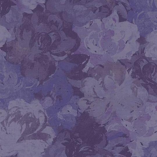 Обои Casadeco Williamsburg WIL28446526 пионы фиолетовые